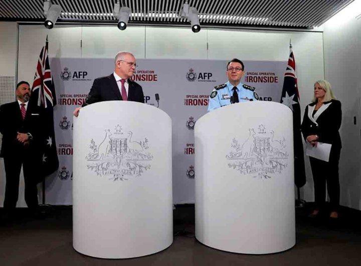 800 personnes arrêtées grâce au décryptage de communications du crime organisé