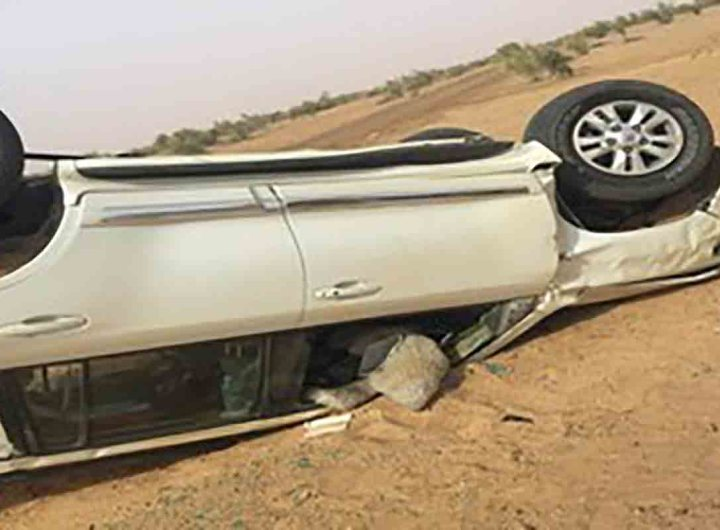 Deux morts et 4 blessés dans un accident près de Néma