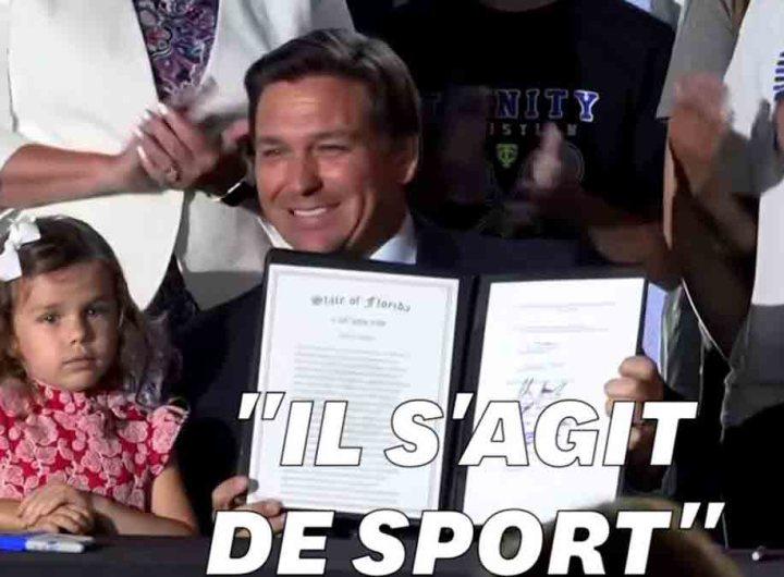 Floride, le gouverneur interdit le sport scolaire aux femmes transgenres