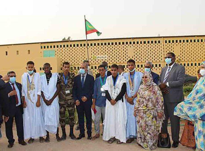 Les lauréats des olympiades arabes de mathématiques primés