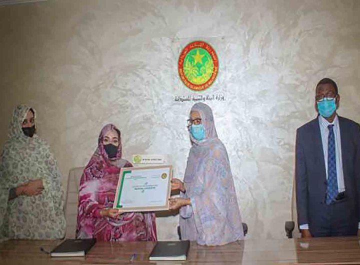 Une ambassadrice de bonne volonté pour l'environnement