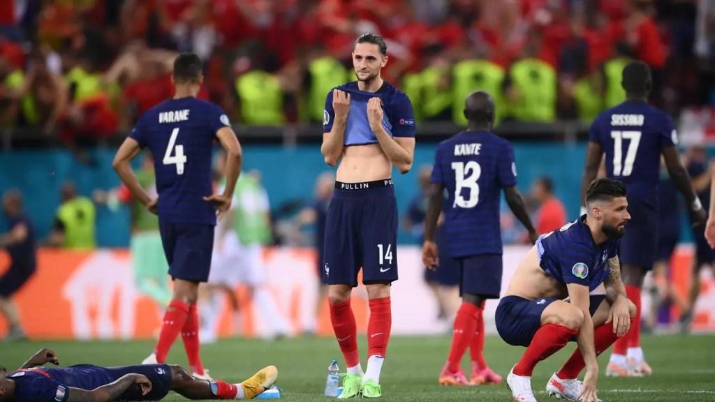 Euro-2021: la France éliminée par la Suisse