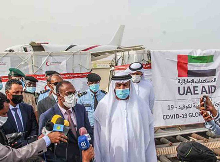 L'État des Émirats arabes unis offre 80 000 doses de vaccins à la Mauritanie