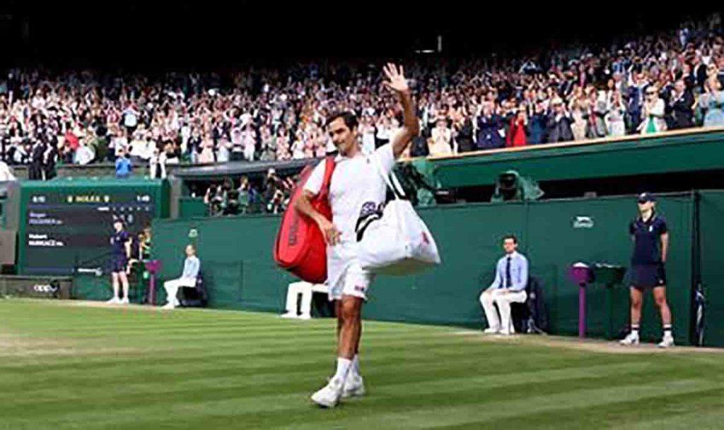 Wimbledon : Le roi du gazon Federer sort par la petite porte en quart de finale