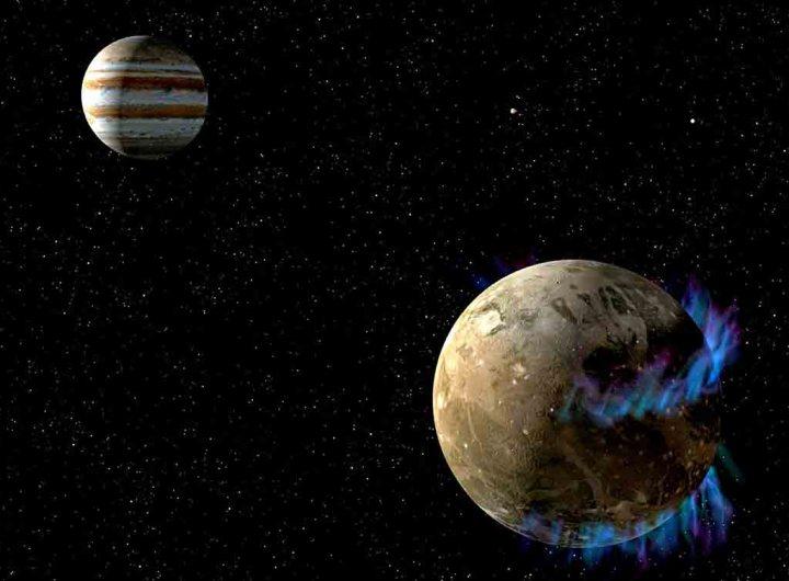 La Nasa découvre de la vapeur d'eau sur la lune glacée Ganymède