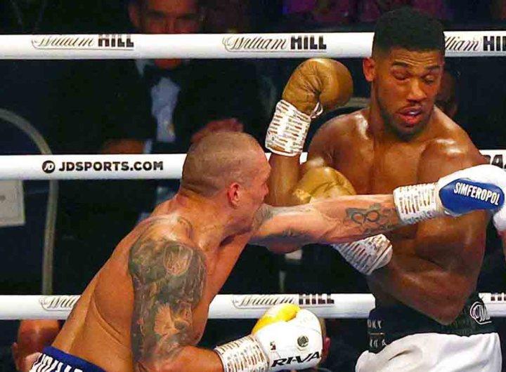 Boxe: Anthony Joshua détrôné par Oleksandr Usyk aux points et à l'unanimité