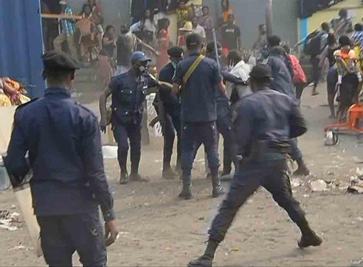 RDC : une manifestation de l'opposition réprimée à Kinshasa, un journaliste brutalement interpellé