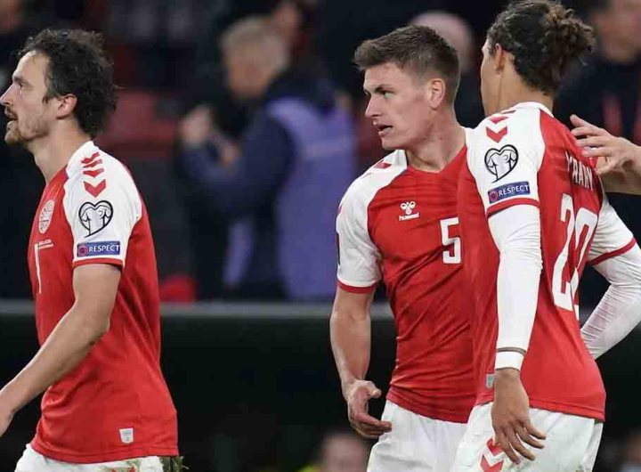 Mondial-2022: le Danemark au Qatar, l'Angleterre freinée