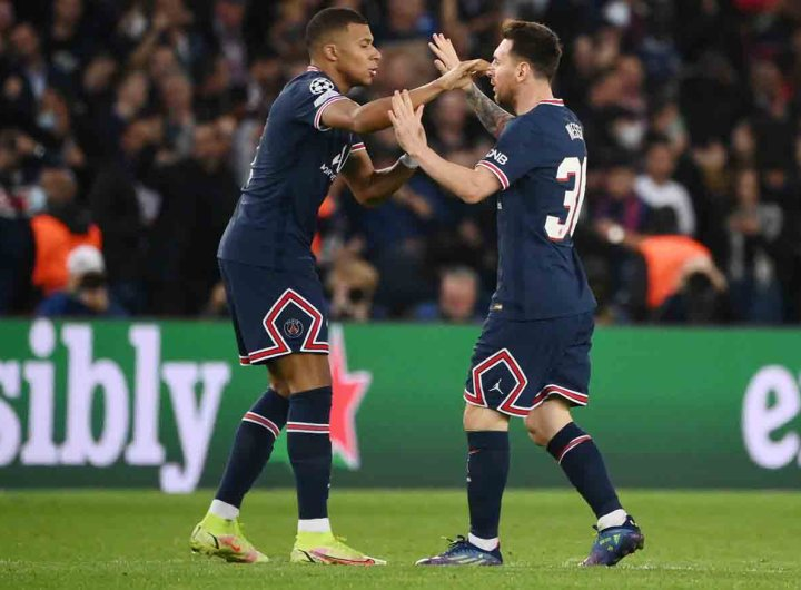 C1: le duo Mbappé-Messi sauve Paris