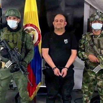 """Colombie: le narcotrafiquant """"Otoniel"""" arrêté, un immense coup porté au trafic de drogue"""
