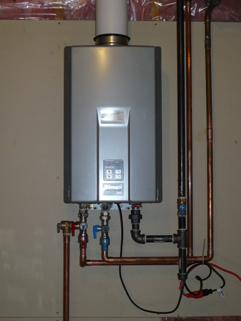 Benefits Of Installing A Tankless Water Heater  Point Bay
