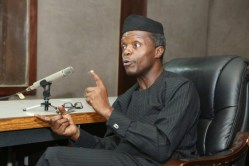 Image result for Corruption responsible for Poverty in Nigeria - Osinbajo