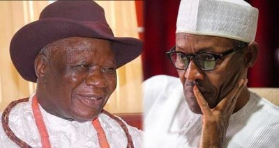 Image result for Edwin Clark and buhari