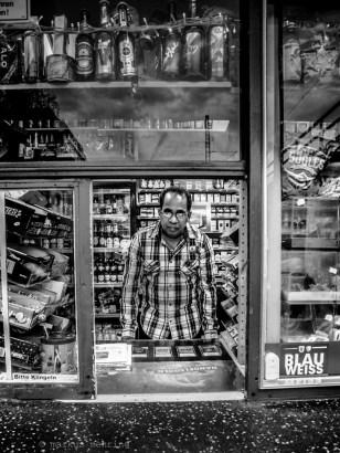 kiosk owner