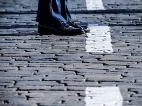 ANDREA: Mitten auf dem Platz
