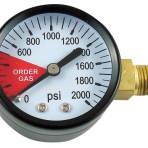 Replacement gauge; 2000#