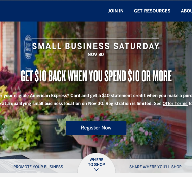 American Express Small Business Saturday 2014