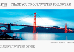 Westin St. Francis Twitter Deal