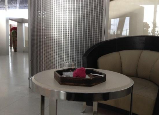 Thai Airways Royal First Class check-in Bangkok Suvarnabhumi Airport