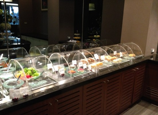 Thai Airways Royal First Class Food