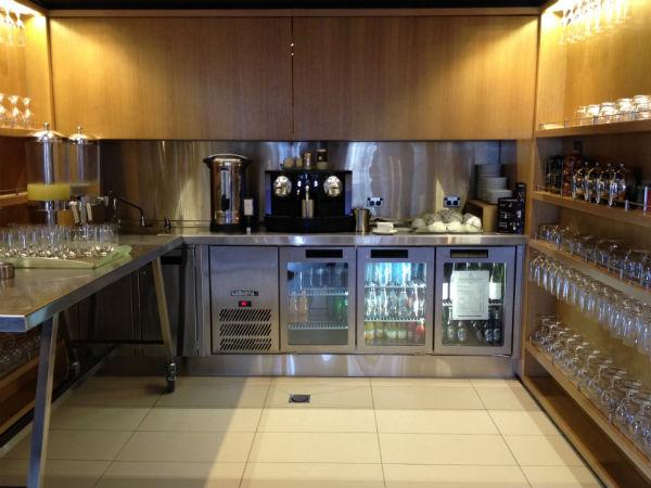 Hilton Sydney Executive Club Lounge Beverage Section