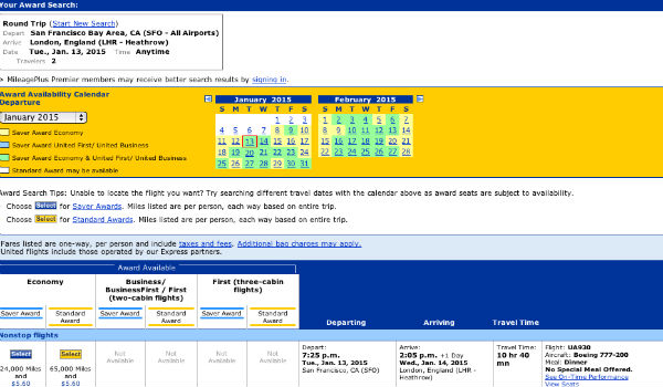 United offering 20% off Saver award flights to Europe