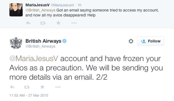 British Airways accounts hacked
