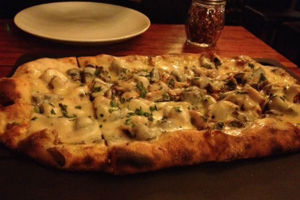 Serious Pie Mushroom Truffle Pizza