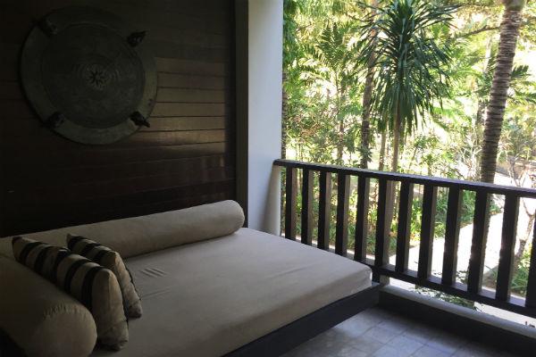 Conrad Suite Balcony