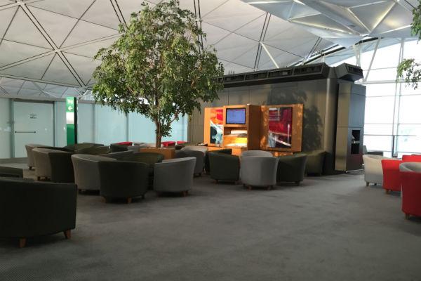 Dragonair Business Class Lounge Hong Kong Seating Area