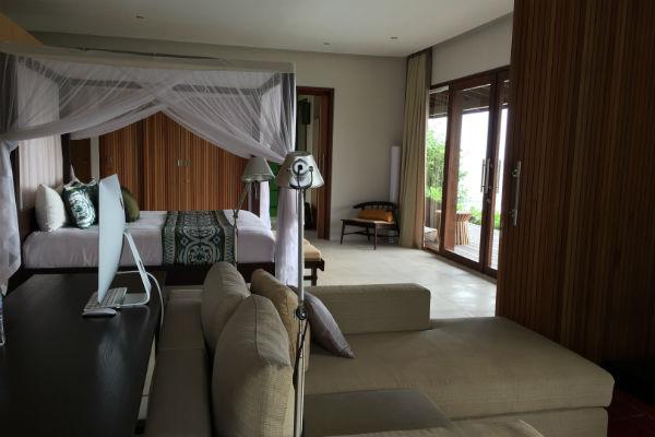 Villa Bulung Daya Master Bedroom