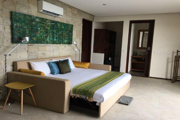 The pool house at Villa Bulung Daya