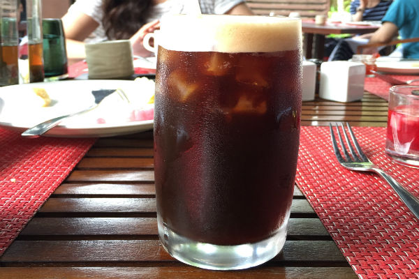 The Conrad Bali does coffee right