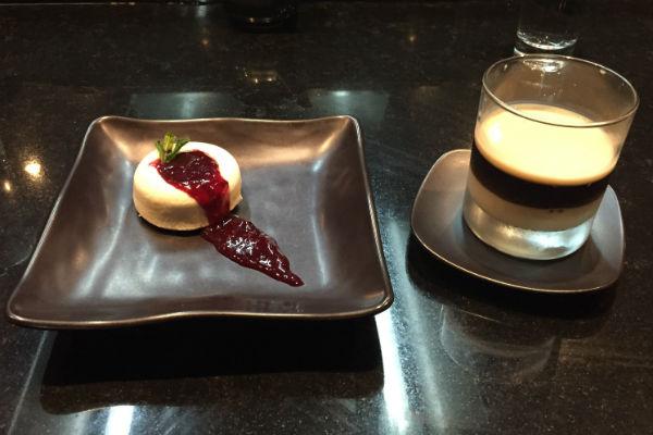 Dozo Japanese Restaurant Hyatt Ziva Los Cabos Dessert