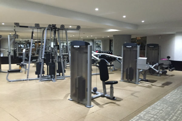 Weights at Hyatt Ziva Los Cabos Gym