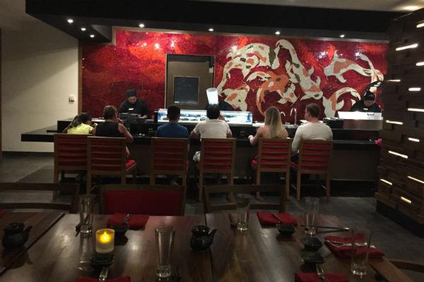 Dozo Sushi Bar at Hyatt Ziva Los Cabos