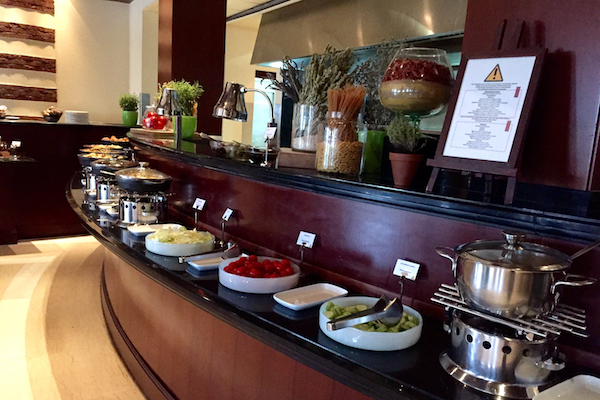 Hyatt Regency Thessaloniki Ambrosia Restaurant Breakfast Buffet