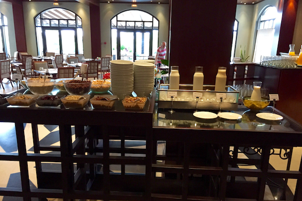 Hyatt Regency Thessaloniki Breakfast Buffet Cereal and Granola