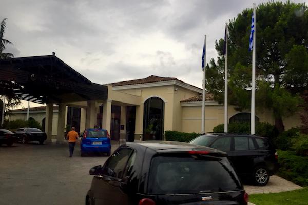 Hyatt Regency Thessaloniki Driveway