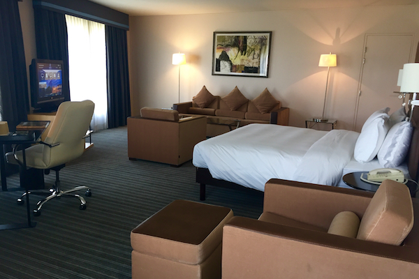 Club Deluxe Suite at Hyatt Regency Charles de Gaulle