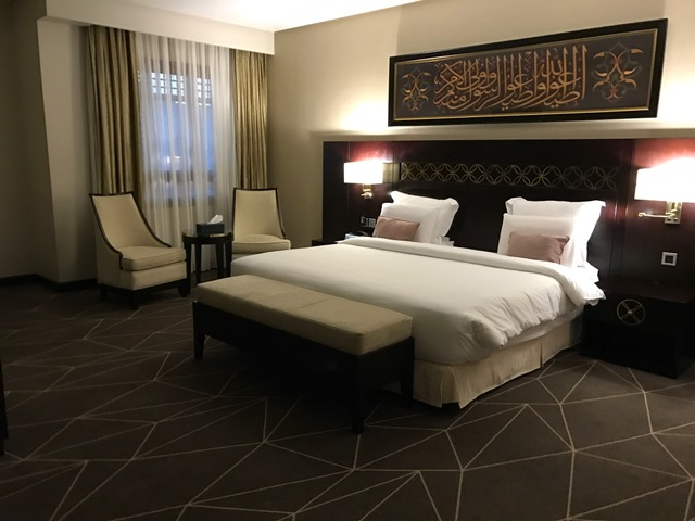 Pullman ZamZam Madinah 2-Bedroom Suite Master Bedroom