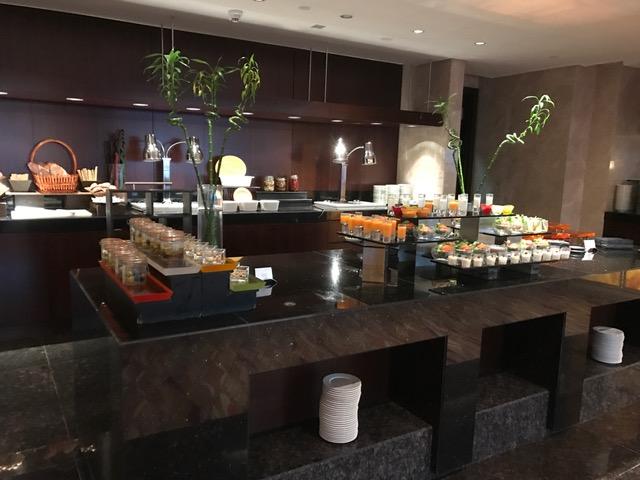 Conrad Dubai Executive Lounge Afternoon Tea