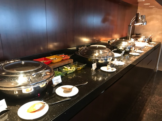 Conrad Dubai Executive Lounge Evening Appetizer Spread