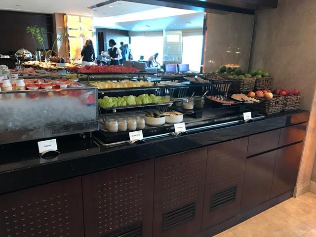Conrad Dubai Executive Lounge Evening Appetizers