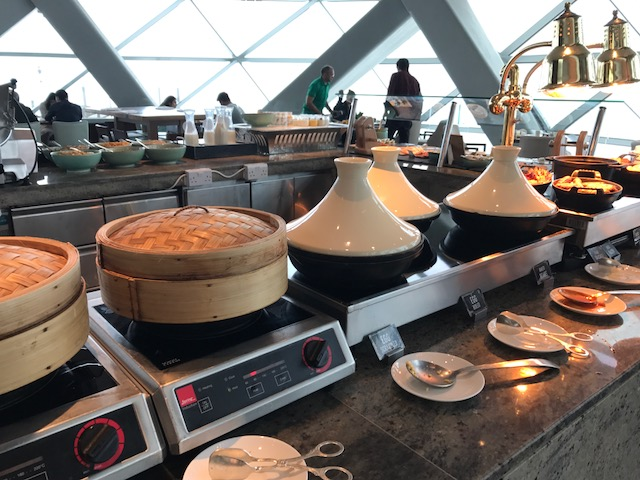 Hyatt Capital Gate 18 Degrees Diamond Breakfast Hot Items