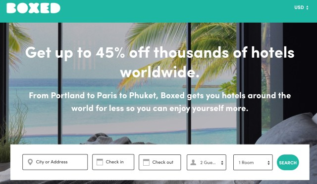 Boxed Hotels: Save Up to 45% On Hotels Worldwide