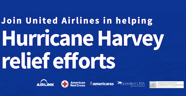 Earn Miles for Donations to Hurricane Harvey Relief