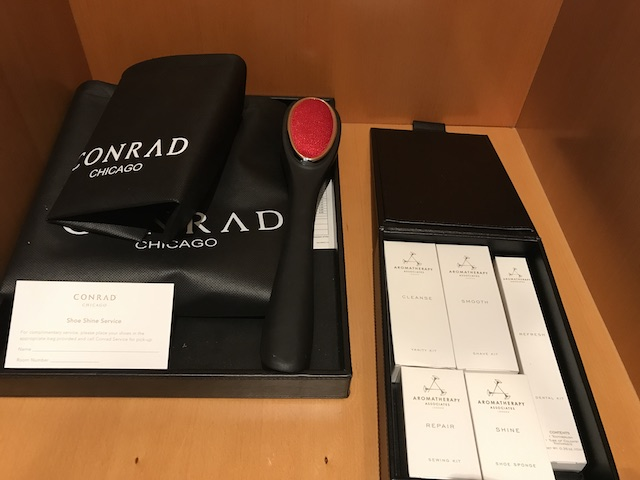 Conrad Chicago Superior Room Amenities Sewing Kit