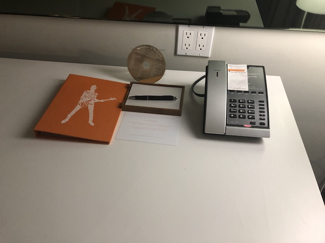 Andaz West Hollywood Queen Room Desk
