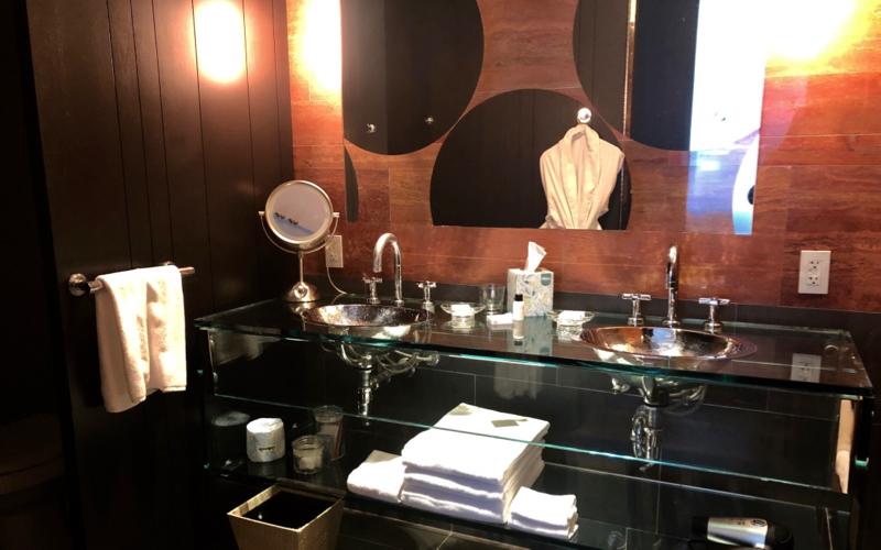 Review: Andaz 5th Avenue Suite Bathroom